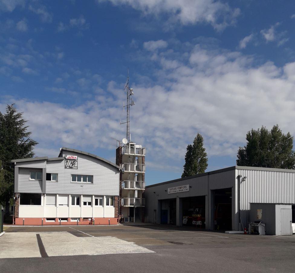 Caserne des pompiers capture photo