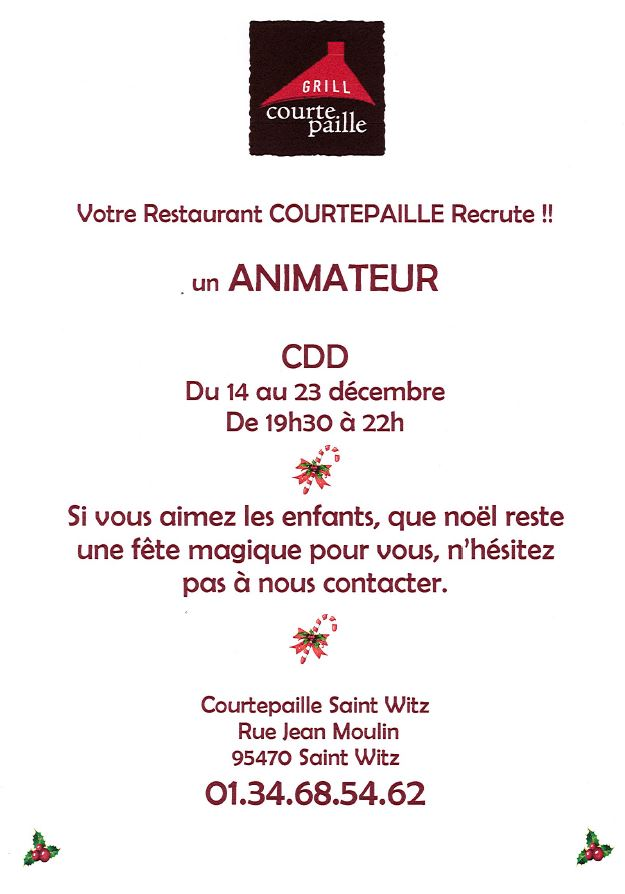 Grill Courte Paille CDD 2019