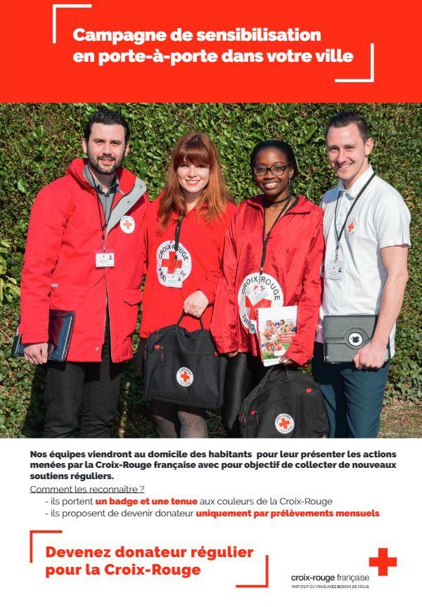 La Croix Rouge Franaise Affiche 160120