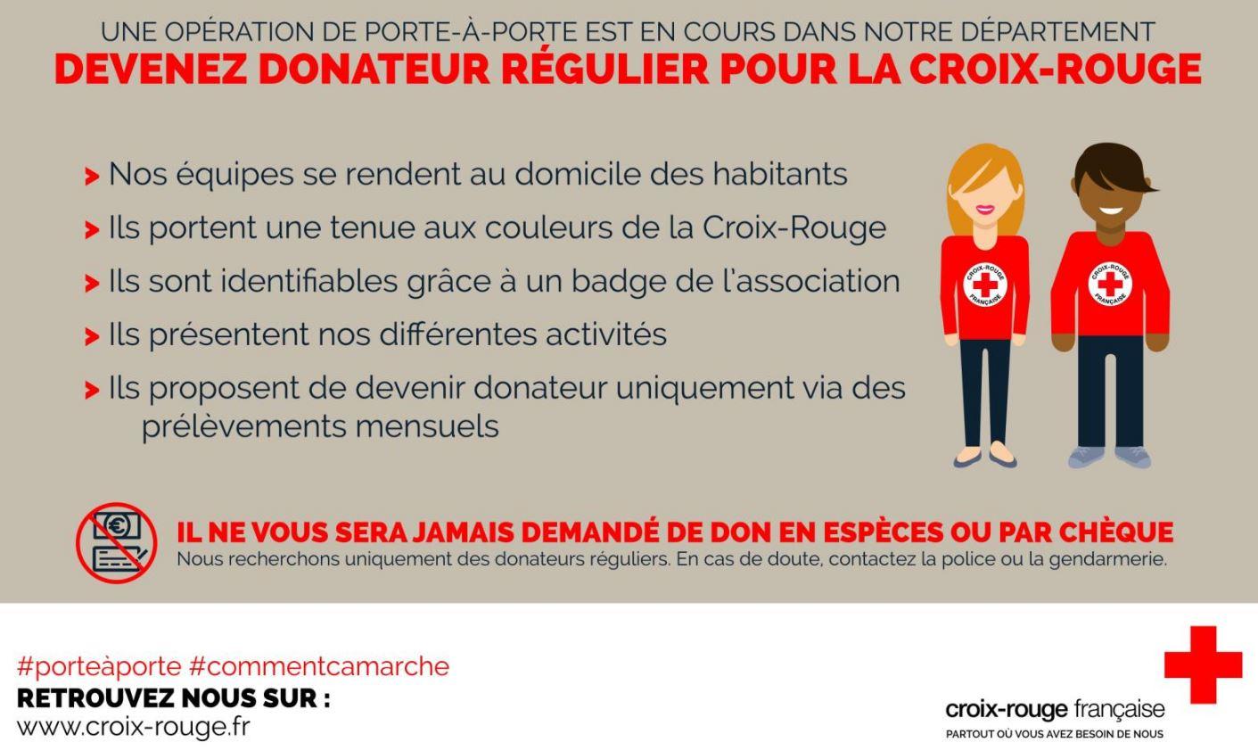 La Croix Rouge Franaise Infographie 160120