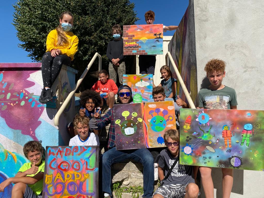 Stage de Graff avec Wary 4