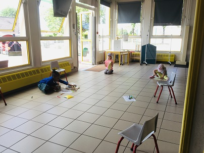 Distanciation Ecole maternelle